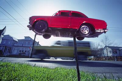 Robert Funk, 'Car on a Stick', 1977