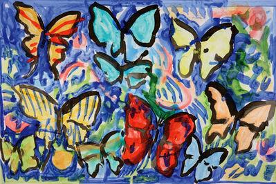 Hunt Slonem, 'Bird Wing-B', 2013