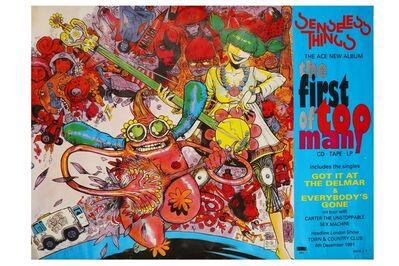 Jamie Hewlett, 'Senseless Things Poster', 1991