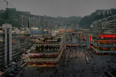 Chen Jiagang, 'The Great Three Gorges - A Night at Fengjie'