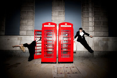 Tyler Shields, 'Phone Booths', 2012