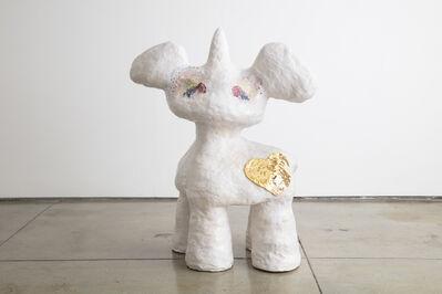 Jasmin Anoschkin, 'Golden Heart Bambi Wannabe Unicorn', 2019