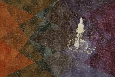 Martin Bennett, 'Static Image Painting/Orange/Candle/Medicine Hat', 2007