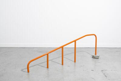 Tanya Brodsky, 'Orange Handrail (too low)', 2016