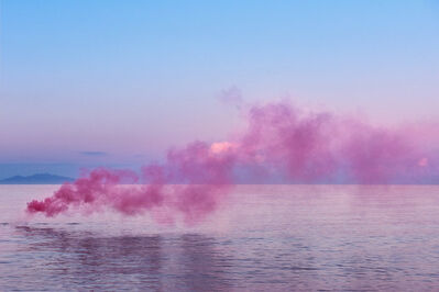 Isabelle & Alexis, 'Aria#07 - Corsica - Pink cloud at sunrise over the sea', 2017