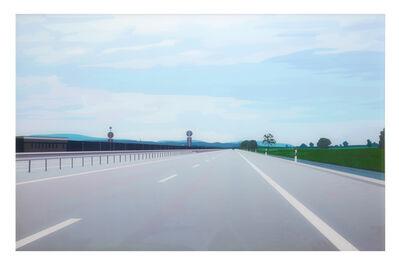Julian Opie, 'Radio Wind Tyres', 2000
