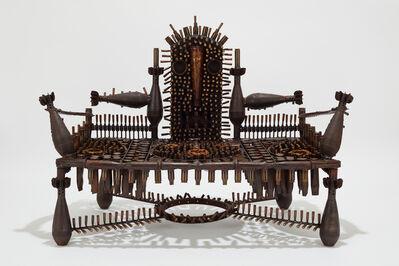 Gonçalo Mabunda, 'Untitled (throne)', 2019