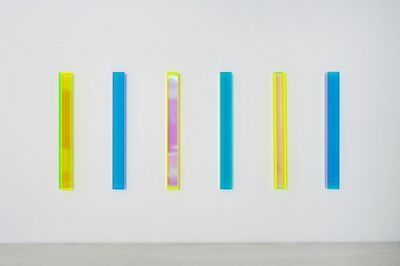 Regine Schumann, 'color rainbow and satin brüssel', 2018