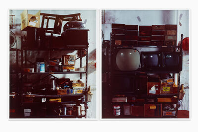 Christian Jankowski, 'Cleaning Up the Studio (Shelf)', 2010