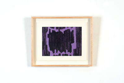 Chiyu Uemae, 'Untitled (Purple) ', 1985