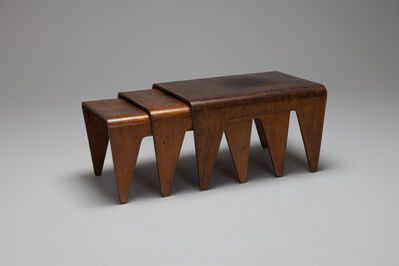 Marcel Breuer, 'Early Set of Three Nesting Tables', ca. 1935