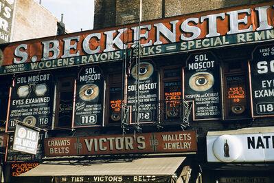 Werner Bischof, 'S. Beckenstein, New York, USA', 1953