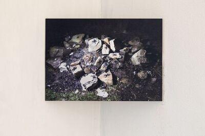 Simone Cametti, 'Habitat  installation 2020 - in corso, action and reportage', 2020