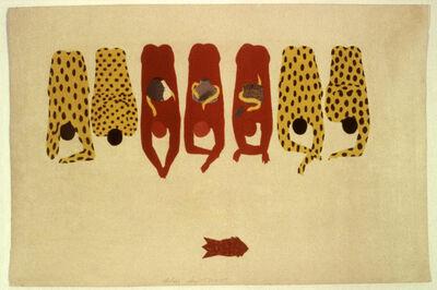 Belkis Ayón, 'Veneración (Veneration)', 1986