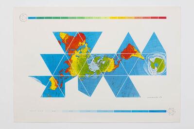 R. Buckminster Fuller, 'Dymaxion Air-Ocean World Map', 1980