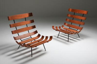Carlo Hauner, 'Pair of Martin Eisler & Carlo Hauner 'Costela' Lounge Chairs, 1960s', 1960-1969