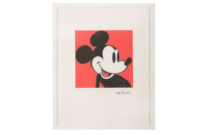 Andy Warhol, 'Mickey Mouse'