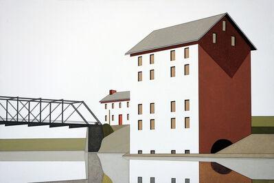 William Steiger, 'Mill Bridge Reflection #1', 2016