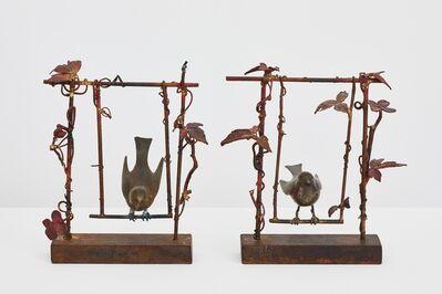 Claude Lalanne, 'Paire d'oiseaux sur la balançoire', 2000