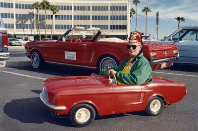 David Graham, 'Bill Rerria, Veteran's Day Parade, Yuma, Arizona', 1986