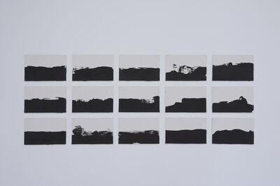 Joël Andrianomearisoa, 'Sur un horizon infini se joue le theatre de nos affections ', 2017