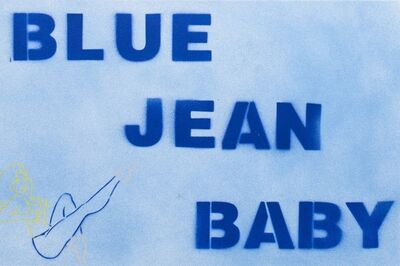 Bernie Taupin, 'Blue Jean Baby ', 2019