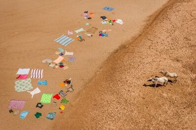 Cristina Mittermeier, 'Laundry on the Mandare', Unknown