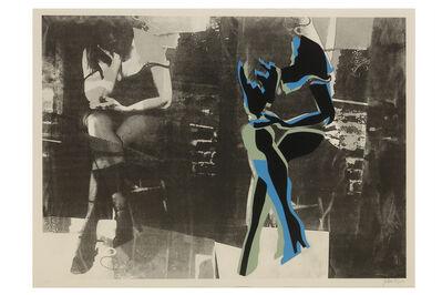 John Piper, C.H., 'Eye and camera: grey and blue'