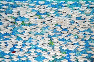 Anna Tsalagka, '(KFS) Origami boats', 2019