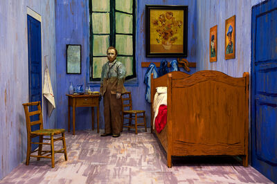 Yasumasa Morimura, 'Self-Portaits through Art History (Van Gogh's Room)', 2016