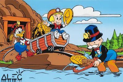 Alec Monopoly, 'Crypto $ Team Mining Work', 2021
