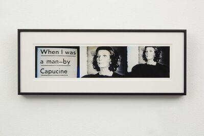John Waters, 'Capucine', 2000