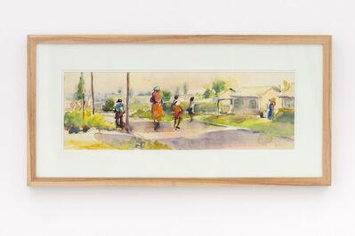 Durant Sihlali, 'Township scene (Kliptown)', 1981