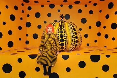 Yayoi Kusama, 'Kusama with Pumpkin, 2010', 2010