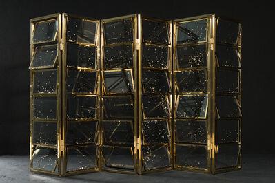 JUJUWANG, 'Gold Leaf Screen', 2018