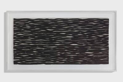 Sol LeWitt, 'Horizontal Lines in Black and Gray', 2004