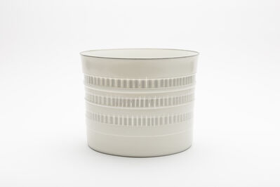 """Bodil Manz, 'Cylinder No. 5 with Relief """"Shade""""', 2018"""