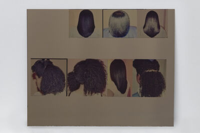 Kandis Williams, '4C curls: Bad Indians, your eyes on the back of these heads', 2017
