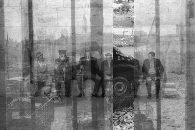 George Legrady, '6 Men – Jerusalem', 2014