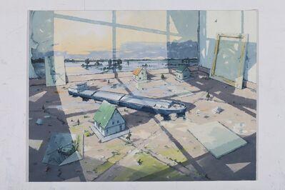 Sven Kroner, 'Atelierecke 3', 2017