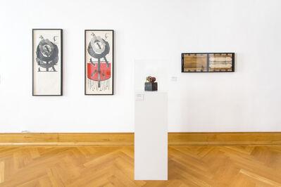 Geta Bratescu, 'Magnets (On-Off)', 1974