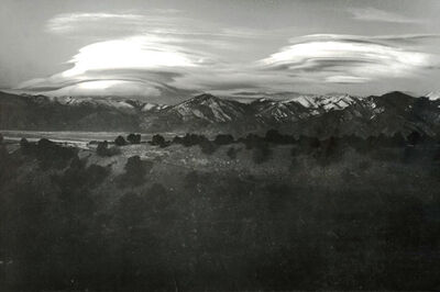 W. Eugene Smith, 'Cloud Mountain Landscape, New Mexico', 1947/1947c