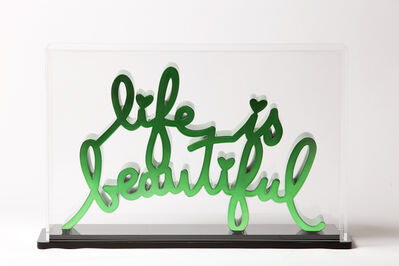 Mr. Brainwash, 'Life is beautiful - Hard Candy Green', 2020