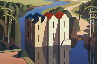 Andy Wooldrdidge, 'River Mill', 2017