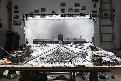 "Cortis & Sonderegger, 'Making of ""KZ Auschwitz, Gateway"" (by Stanlislaw Mucha, 1945)', 2015"