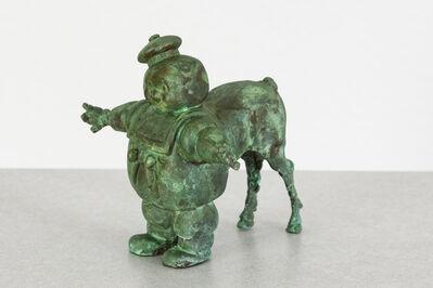 Joshua Goode, 'Bronze, hand cast, patiead: 'Chubby Centaur'', 2019