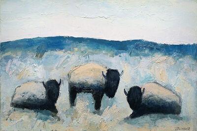 Theodore Waddell, 'Ruby River Buffalo #4'