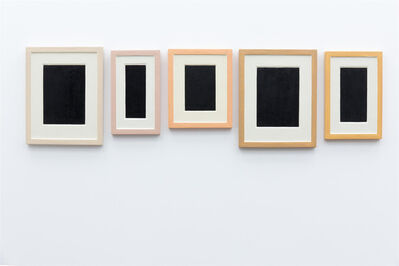 Allan McCollum, 'Collection of Five plaster surrogates', 1982-1990