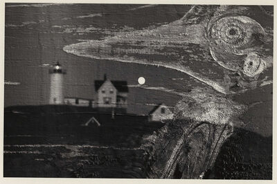 Minor White, 'Nubble Light, Cape Neddick, Maine, Double Exposure', 1969/1969