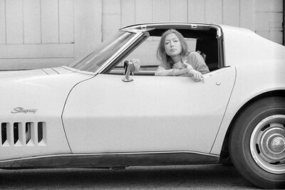 Julian Wasser, 'Joan Didion, Hollywood, 1968 (13a.)', 1968